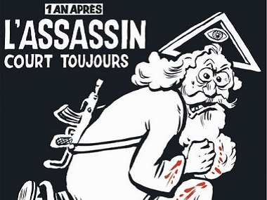 The cover of the latest issue of Charlie Hebdo. Twitter @gpaccardo