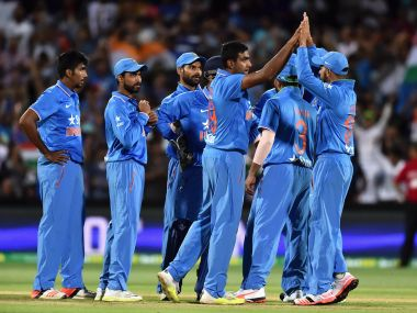 File picture of India team members. Getty
