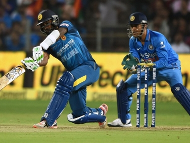 India captain MS Dhoni said there were positives to be taken from the T20 defeat against Sri Lanka. AFP