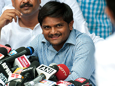 Hardik Patel in a file photo. Naresh Sharma/Firstpost
