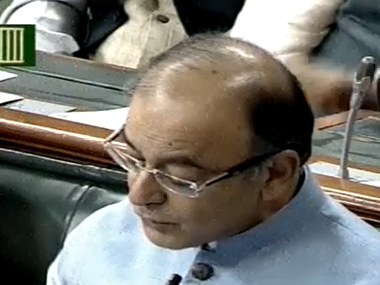 Youtube screengrab of Arun Jaitley