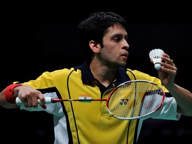 File photo of Parupalli Kashyap. AFP