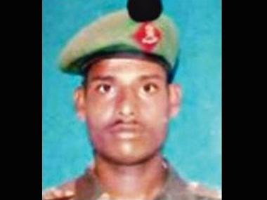 Lance Naik Hanamanthappa Koppad. IBNLive