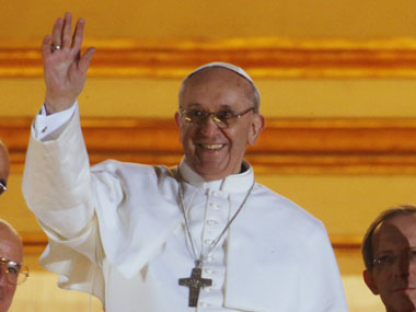 File photo of Pope Francis. AP