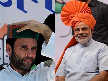 Rahul Gandhi and Prime Minister Narendra Modi