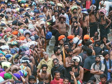 Sabarimala temple. Reuters