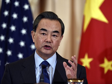File image of Chinese Foreign Minister Wang Yi. AP