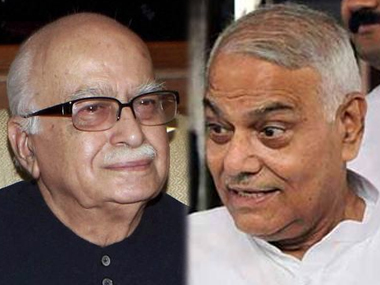 After Advani, it's Yashwant Sinha's turn:  What's going on in BJP party ranks is hardly unexpected