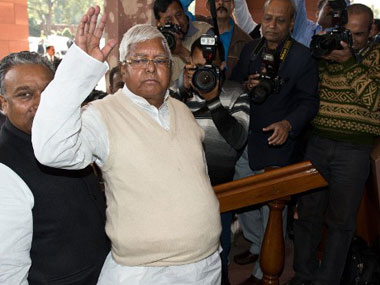 Lalu Prasad Yadav. File photo. AFP