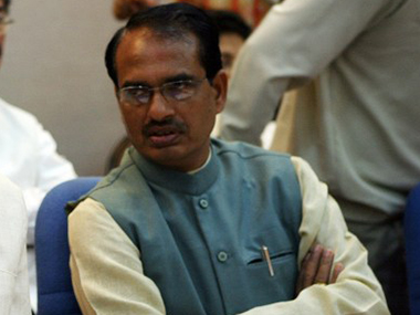 Vyapam scam and drought are affecting MP. Madhya Pradesh CM Shivraj Singh Chouhan. AFP
