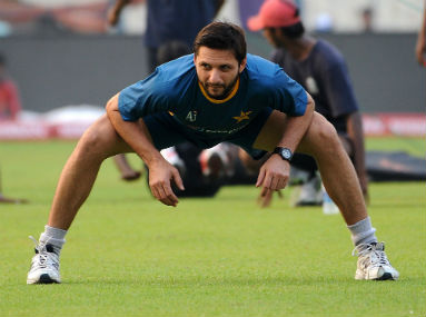 Pakistan captain Shahid Afridi doesn't inspire much confidence with his inconsistency. Solaris Images