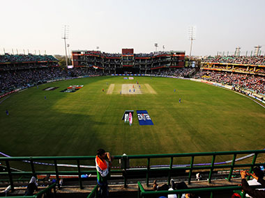 File photo of the Feroz Shah Kotla Stadium in New Delhi. Getty Images