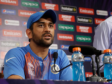 Indian captain MS Dhoni. GettyImages