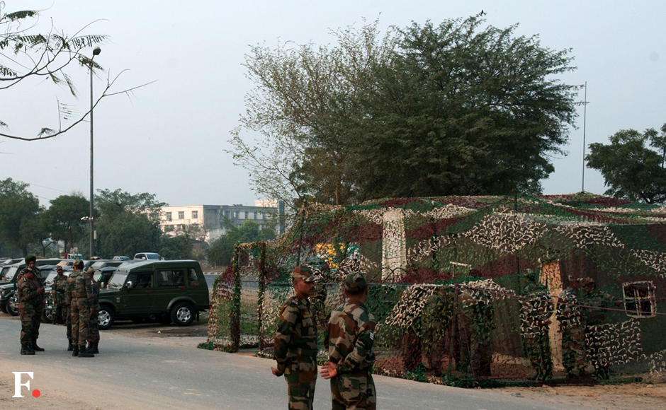 After protests that lasted 10 days, peace finally reigns, albeit under Army supervision. Naresh Sharma/Firstpost