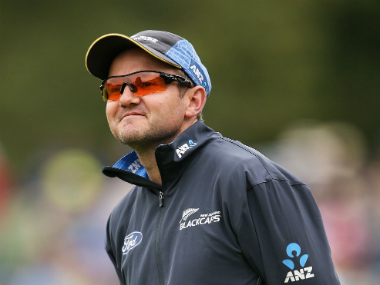 File photo of New Zealand coach Mike Hesson. Getty Images