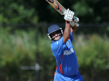 File photo of Afghanistan batsman Mohammad Shahzad. Getty Images