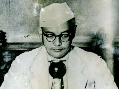 Netaji Subhash Chandra Bose in a file photo. Reuters