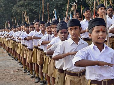RSS cadres. PTI