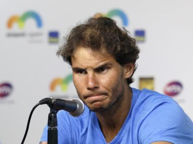 File photo of Rafael Nadal. AP
