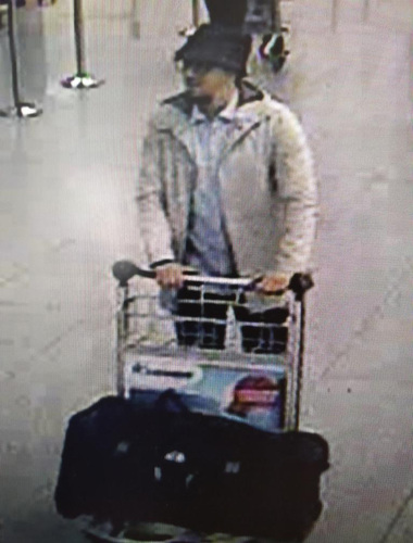 CCTV image of the Brussels attacks suspect/ AP