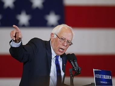 File photo of Bernie Sanders. AP