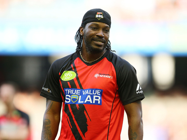 File photo of Chris Gayle of the Renegades. Getty Images