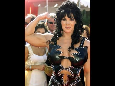 File photo of Chyna. AFP