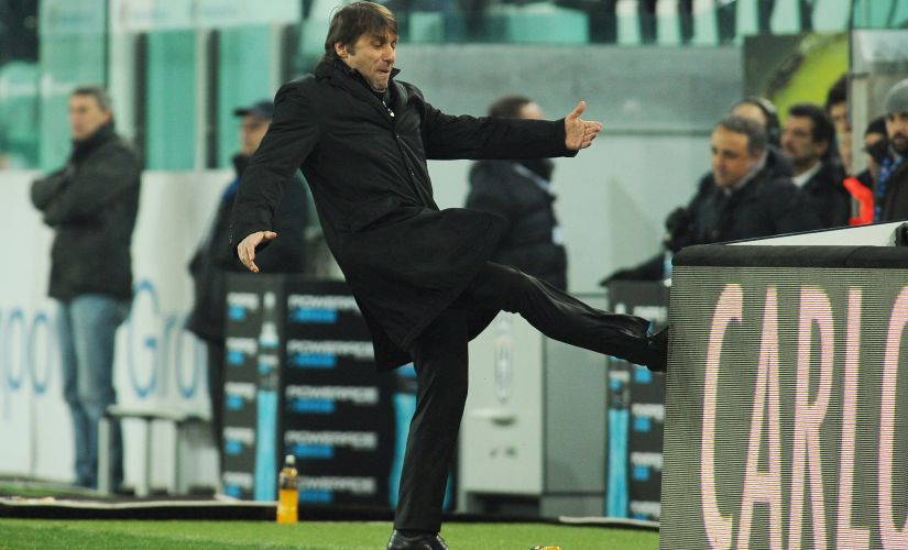 File photo of Juventus FC head coach Antonio Conte reacting during a match. Getty Image