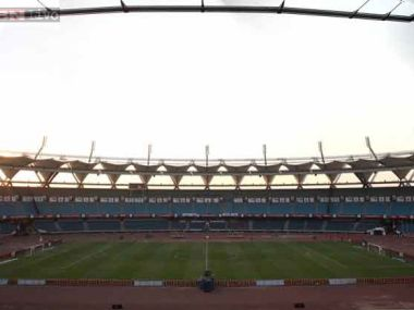Jawaharlal Stadium in New Delhi. Image Courtesy: IBN Live