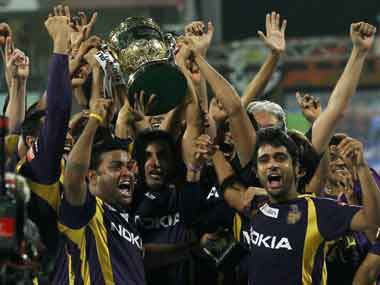 KKR won the IPL in 2012 and 2014. PTI