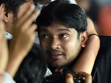A file photo of Kanhaiya Kumar. News 18