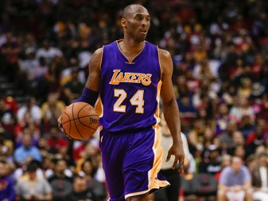 File photo of Kobe Bryant #24 of the Los Angeles Lakers. Getty Images