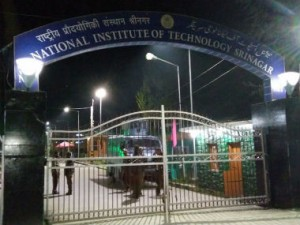 CRPF has been deployed at NIT Srinagar. IBNLive