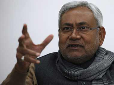 A file photo of Nitish Kumar. Reuters