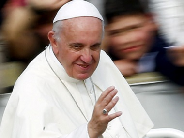 File photo of Pope Francis. Reuters