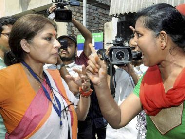 A file photo of Roopa Ganguly. PTI