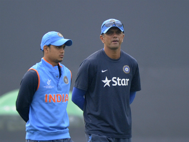 Rahul Dravid Under-19 Getty Images