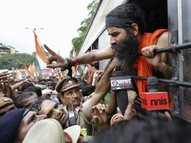 A file photo of Ramdev. AP