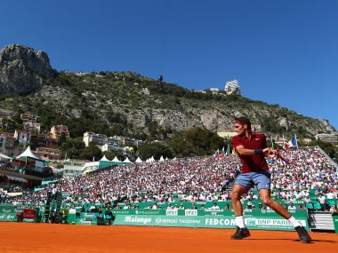Federer last played at the Monte Carlo Masters. Getty Images
