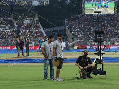 Spidercam, spidercam: Goes wherever a spider can. BCCI