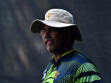File picture of Waqar Younis. AFP
