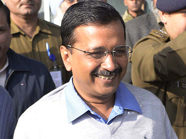 File photo of Delhi Chief Minister Arvind Kejriwal. AFP