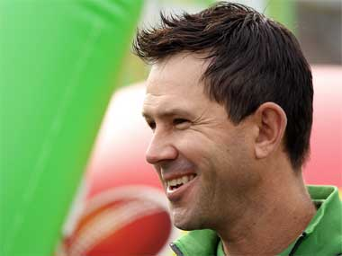 Former Australia captain Ricky Ponting. Getty