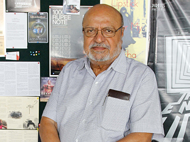 Shyam Benegal. File photo/Solaris Images