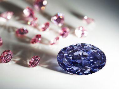 AUSTRALIA-BRITAIN-RESOURCES-RIO TINTO-DIAMOND-MINING-JEWELLERY
