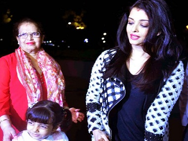 There she goes: Aishwarya Rai sets off for Cannes with daughter Aaradhya in tow - Firstpost