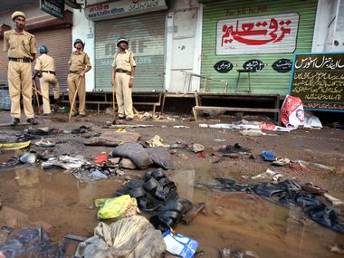 A file image of the location of the Malegaon blast. Reuters