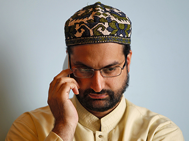 A file photo of Mirwaiz Umar Farooq. Reuters