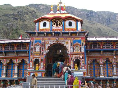 Badrinath Temple. Wikimedia commons