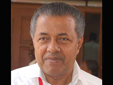 File image of Pinarayi Vijayan. News18